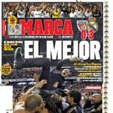 Coleccionismo deportivo: DIARIO MARCA REAL MADRID CAMPEON LIGA 11/12 FACSIMIL TEMPORADA 2011/2012 - 32 LIGAS BLANCAS MOURINHO. Lote 57626513