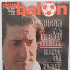 Coleccionismo deportivo: REVISTA DON BALON Nº 214 DEL 13 AL 19 NOVIEMBRE 1979 POSTER U.D SALAMANCA 79/80. Lote 57628699