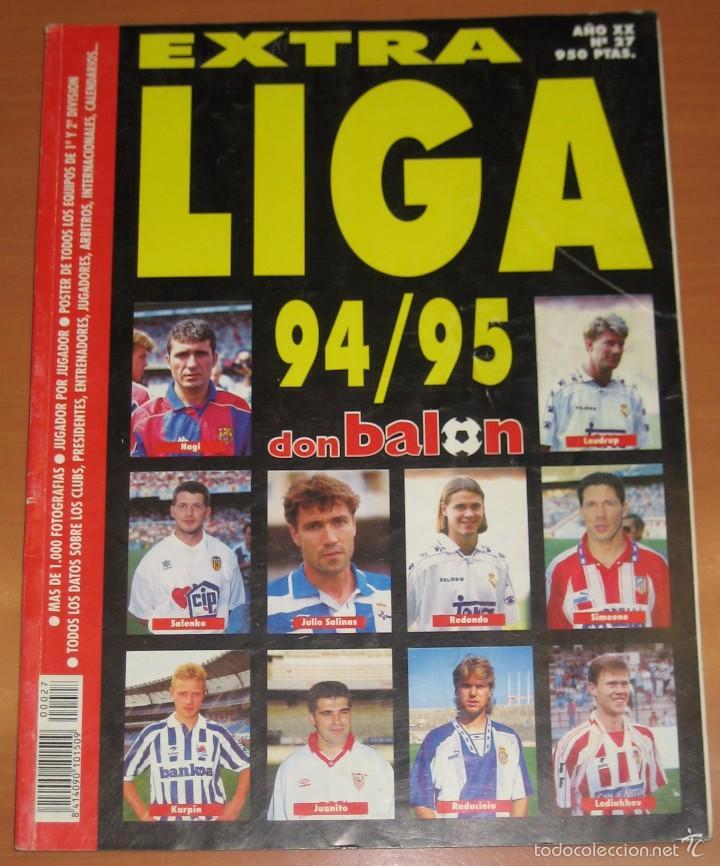 REVISTA DON BALÓN EXTRA LIGA 94-95 1994/1995 1994 1995 (Coleccionismo Deportivo - Revistas y Periódicos - Don Balón)