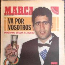 Coleccionismo deportivo: SUPLEMENTO MARCA GUÍA VUELTA 96 MIGUEL INDURAIN. Lote 57634572