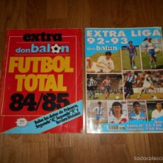 Coleccionismo deportivo: EXTRA DON BALON. FUTBOL TOTAL 84/85 TODOS DATOS DE 1º 2º 2ºB Y 3º DIVISION REGALO EXTRA LIGA 92 93. Lote 57655037