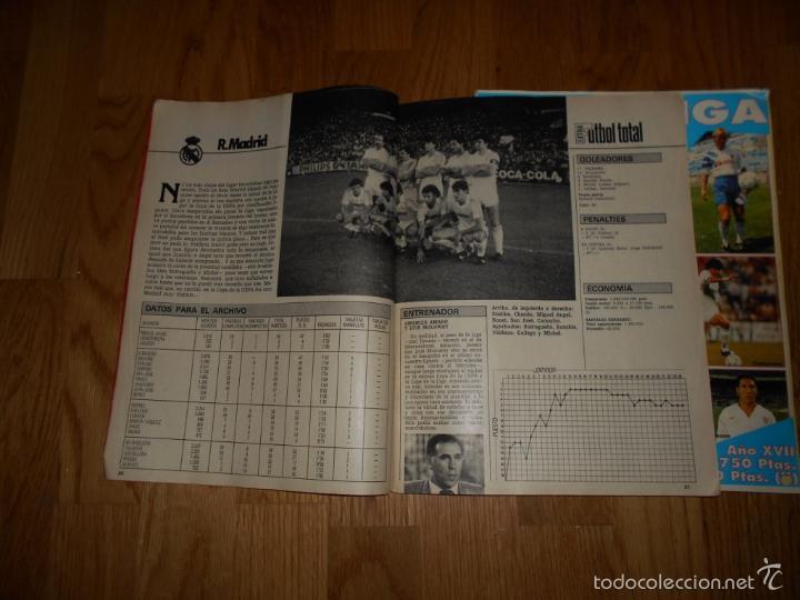 Coleccionismo deportivo: EXTRA DON BALON. FUTBOL TOTAL 84/85 TODOS DATOS DE 1º 2º 2ºB Y 3º DIVISION REGALO EXTRA LIGA 92 93 - Foto 5 - 57655037