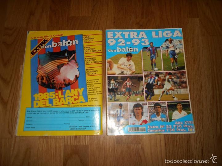 Coleccionismo deportivo: EXTRA DON BALON. FUTBOL TOTAL 84/85 TODOS DATOS DE 1º 2º 2ºB Y 3º DIVISION REGALO EXTRA LIGA 92 93 - Foto 7 - 57655037