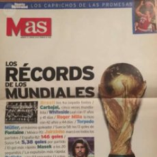 Coleccionismo deportivo: LOS RÉCORDS DE LOS MUNDIALES. Lote 57665841