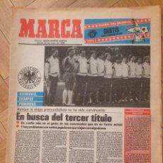 Coleccionismo deportivo: DIARIO DEL MUNDIAL MEXICO 86 MARCA 29 MAYO 1986 ALEMANIA URUGUAY ESCOCIA DINAMARCA. Lote 57693940