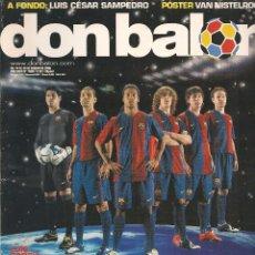 Coleccionismo deportivo: DON BALÓN. Nº 1609. 20 AGOSTO 2006. PÓSTER: VAN MISTELROOY. (Z19). Lote 57725274