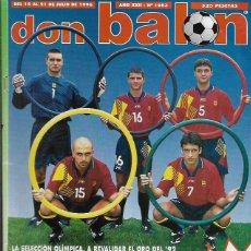 Coleccionismo deportivo: REVISTA * DON BALÓN * Nº 1083 - 1996-. Lote 57727701