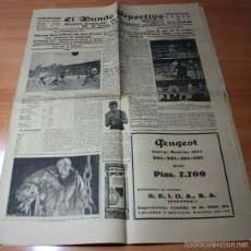 Coleccionismo deportivo: EL MUNDO DEPORTIVO Nº 4137 3 DICIEMBRE 1934, ROTATIVO ILUSTRADO DE TODOS LOS DEPORTES. Lote 57730026