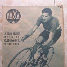 Coleccionismo deportivo: MARCA.SEMANARIO GRÁFICO DE LOS DEPORTES.AÑO V. MADRID, 28 DE JULIO DE 1942.Nº 181. Lote 57733453