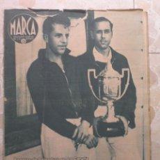 Coleccionismo deportivo: MARCA.SEMANARIO GRÁFICO DE LOS DEPORTES.AÑO V. MADRID, 18 DE AGOSTO DE 1942.Nº 184. Lote 57733600