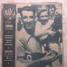 Coleccionismo deportivo: MARCA.SEMANARIO GRÁFICO DE LOS DEPORTES.AÑO V. MADRID, 1 DE SEPTIEMBRE DE 1942.Nº 186. Lote 57733747