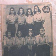Coleccionismo deportivo: MARCA.SEMANARIO GRÁFICO DE LOS DEPORTES.AÑO V. MADRID,8 DE SEPTIEMBRE DE 1942.Nº 187. Lote 57733786