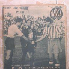 Coleccionismo deportivo: MARCA.SEMANARIO GRÁFICO DE LOS DEPORTES.AÑO V. MADRID,15 DE SEPTIEMBRE DE 1942.Nº 188. Lote 57733813