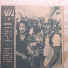 Coleccionismo deportivo: MARCA.SEMANARIO GRÁFICO DE LOS DEPORTES.AÑO V. MADRID,22 DE SEPTIEMBRE DE 1942.Nº 189. Lote 57733885