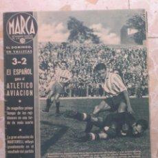 Coleccionismo deportivo: MARCA.SEMANARIO GRÁFICO DE LOS DEPORTES.AÑO V. MADRID, 6 DE OCTUBRE DE 1942.Nº 191. Lote 57733966
