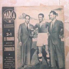 Coleccionismo deportivo: MARCA.SEMANARIO GRÁFICO DE LOS DEPORTES.AÑO V. MADRID, 13 DE OCTUBRE DE 1942.Nº 192. Lote 57734007