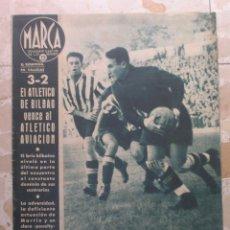 Coleccionismo deportivo: MARCA.SEMANARIO GRÁFICO DE LOS DEPORTES.AÑO V. MADRID, 20 DE OCTUBRE DE 1942.Nº 193. Lote 57734041