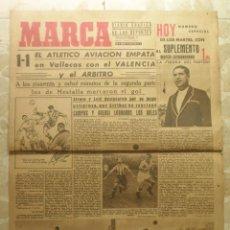 Coleccionismo deportivo: MARCA.DIARIO GRÁFICO DE LOS DEPORTES.AÑO II.MADRID, 12 DE ENERO DE 1943.Nº 41. Lote 57735535