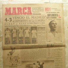 Coleccionismo deportivo: MARCA.DIARIO GRÁFICO DE LOS DEPORTES.AÑO II.MADRID, 19 DE ENERO DE 1943.Nº 47. Lote 57735811