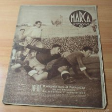 Coleccionismo deportivo: MARCA SEMANARIO GRAFICO DE LOS DEPORTES Nº 97 17.12.1940 FUTBOL, BOXEO. Lote 57742412