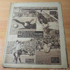 Coleccionismo deportivo: MARCA SEMANARIO GRAFICO DE LOS DEPORTES Nº 155 27.301.1942 ANTOÑITA COLOME. Lote 57742633