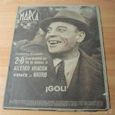 Coleccionismo deportivo: MARCA SEMANARIO GRAFICO DE LOS DEPORTES Nº 149 16.12.1941 FUTBOL BOXEO. Lote 57743069