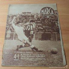 Coleccionismo deportivo: MARCA SEMANARIO GRAFICO DE LOS DEPORTES Nº 89 22.10.1940, PRUEBA MOTORISTA DE JUVENTUDES HITLERIANAS. Lote 57743599