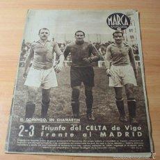 Coleccionismo deportivo: MARCA SEMNARIO GRAFICO DE LOS DEPORTES Nº 163 24.03.1942 GUILLERMINA GRIN. Lote 57743809
