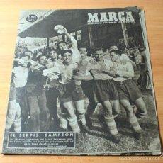 Coleccionismo deportivo: MARCA SEMANARIO GRAFICO DE LOS DEPORTES Nº 286 23.05.1948 FUTBOL. Lote 57744152