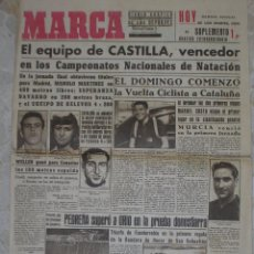 Coleccionismo deportivo: MARCA.DIARIO GRÁFICO DE LOS DEPORTES.AÑO II.MADRID, 7 DE SEPTIEMBRE DE 1943.Nº 244. Lote 57744716