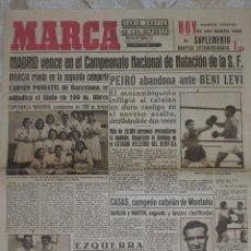 Coleccionismo deportivo: MARCA.DIARIO GRÁFICO DE LOS DEPORTES.AÑO II.MADRID, 21 DE SEPTIEMBRE DE 1943.Nº 256. Lote 57744760