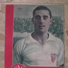 Coleccionismo deportivo: MARCA.SUPLEMENTO GRÁFICO DE LOS DEPORTES.AÑO III.MADRID, 31 DE OCTUBRE DE 1944.Nº 101. Lote 57754617