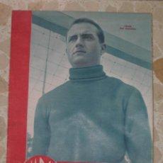 Coleccionismo deportivo: MARCA.SUPLEMENTO GRÁFICO DE LOS DEPORTES.AÑO III.MADRID, 28 DE NOVIEMBRE DE 1944.Nº 105. Lote 57754752