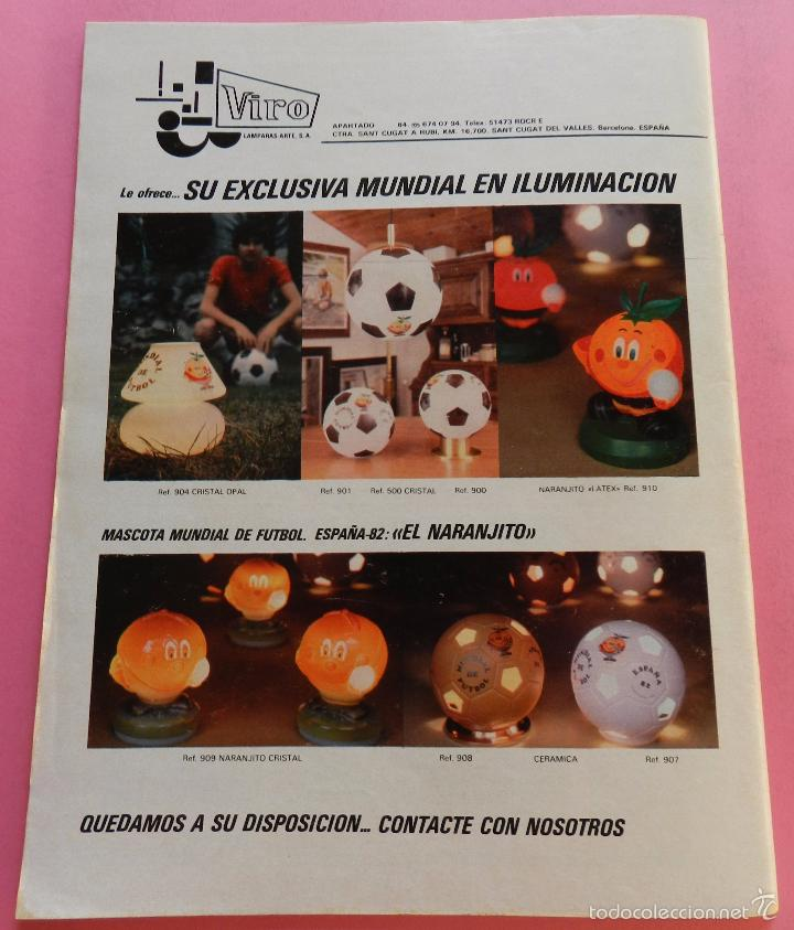 Coleccionismo deportivo: REVISTA DON BALON EXTRA MUNDIAL 1982 Nº 1 ESPAÑA 82 POSTER BRASIL ESPECIAL WORLD CUP M82 WC - Foto 9 - 57773415