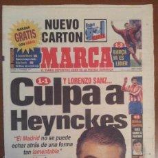 Coleccionismo deportivo: MARCA 7/DICIEMBRE/1997 LORENZO SANZ Y HEYNCKES   ALBERTO TOMBA SKY   CARLOS SAINZ   RUGBY FEMENINO. Lote 57797178