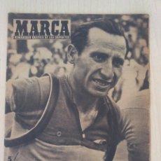 Collectionnisme sportif: MARCA .- Nº 657 .- AÑO XIV .- 1955 .- ANTONIO GELABERT EN PORTADA . Lote 57799261