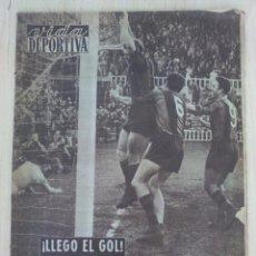 Coleccionismo deportivo - VIDA DEPORTIVA .- Nº 550 AÑO XIII .- 1956 .- LLEGO EL GOL !! KUBALA - 57799361