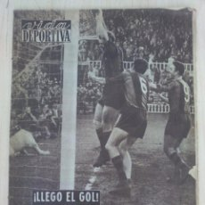 Coleccionismo deportivo: VIDA DEPORTIVA .- Nº 550 AÑO XIII .- 1956 .- LLEGO EL GOL !! KUBALA. Lote 57799361
