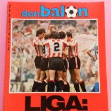 Coleccionismo deportivo: REVISTA DON BALON Nº 447 ATHLETIC CLUB BILBAO CAMPEON LIGA 83/84 DOBLETE 1983/1984 - SADURNI ZAMORA. Lote 57903859
