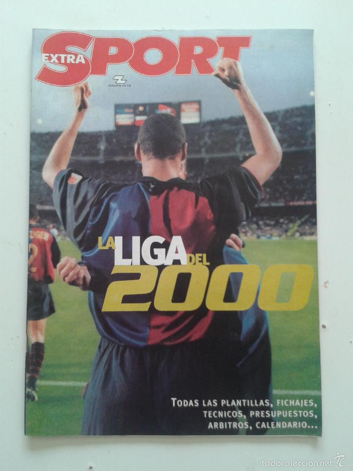GUIA SPORT EXTRA DE LA LIGA DEL 2000 RIVALDO (Coleccionismo Deportivo - Revistas y Periódicos - Sport)