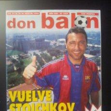 Coleccionismo deportivo: DON BALON Nº 1084 STOICHKOV / RAUL JASP DE AÑO / ROMARIO / SUKER. Lote 57981355