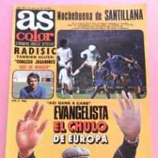 Coleccionismo deportivo: REVISTA AS COLOR Nº 398 POSTER REAL MADRID CAMPEON INVIERNO 78/79 LIGA 1978/1979-STIELIKE-NIETO. Lote 144013118