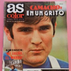 Coleccionismo deportivo: REVISTA AS COLOR Nº 408 POSTER ATHLETIC CLUB BILBAO 78/79 ALINEACION LIGA 1978/1979-CAMACHO-MCENROE. Lote 58014652