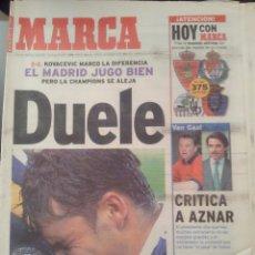 Coleccionismo deportivo: MARCA 9/MAYO/1999 REAL SOCIEDAD 3 - REAL MADRID 2. Lote 58015168
