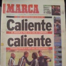 Coleccionismo deportivo: MARCA 18/ABRIL/1999 PREVIA REAL MADRID - VALENCIA. Lote 58015460