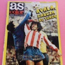 Coleccionismo deportivo: REVISTA AS COLOR Nº 441 POSTER REAL SOCIEDAD 79/80 LIGA 1978/1980-PALENCIA CF-ONTENIENTE-ONTINYENT. Lote 58015590