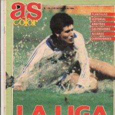 Coleccionismo deportivo: AS COLOR. Nº 136. LA LIGA 1988 - 89. SEPTIEMBRE 1988. (Z9). Lote 58016162