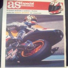 Coleccionismo deportivo: AS 12/ABRIL/1997 SUPLEMENTO MOTOCICLISMO CRIVILLE. Lote 58017344
