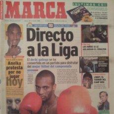Coleccionismo deportivo: MARCA 18/DICIEMBRE/1999 PREVIO DEPORTIVO - CELTA PORTADA FLAVIO. Lote 58017650