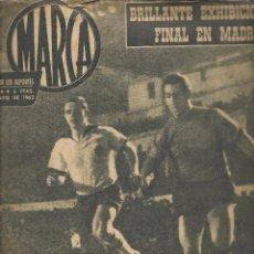 Coleccionismo deportivo: MARCA. SEMANARIO DE LOS DEPORTES. Nº 1016. 22 MAYO 1962. (Z9). Lote 58028379